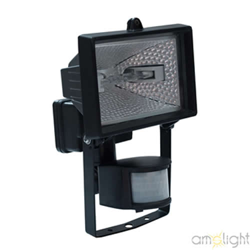 halogenstrahler mit bewegungsmelder fluter strahler halogen sensor 150w 500w top ebay. Black Bedroom Furniture Sets. Home Design Ideas