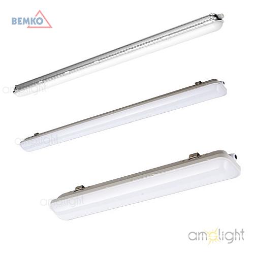 ams light led feuchtraumleuchte 18w wie 2x18w 60cm hla 060 18w led leuchten lampen. Black Bedroom Furniture Sets. Home Design Ideas