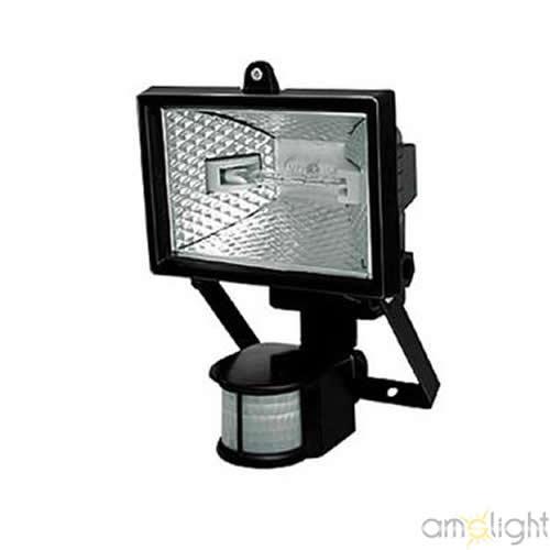 ams light halogenstrahler mit bewegungsmelder fluter strahler halogen sensor 150w led. Black Bedroom Furniture Sets. Home Design Ideas