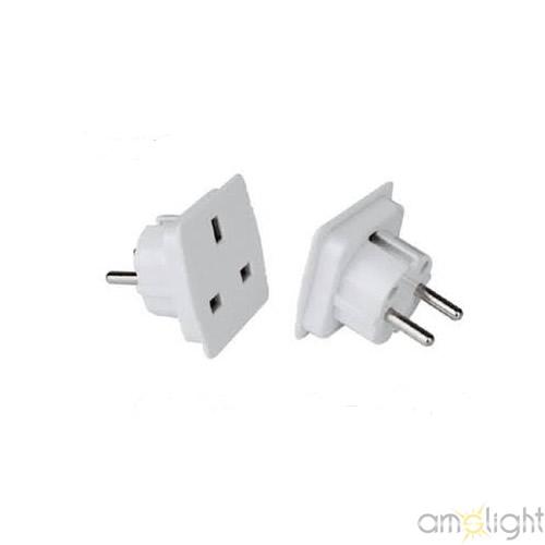 ams light adapter stecker stromadapter uk de uni schuko. Black Bedroom Furniture Sets. Home Design Ideas
