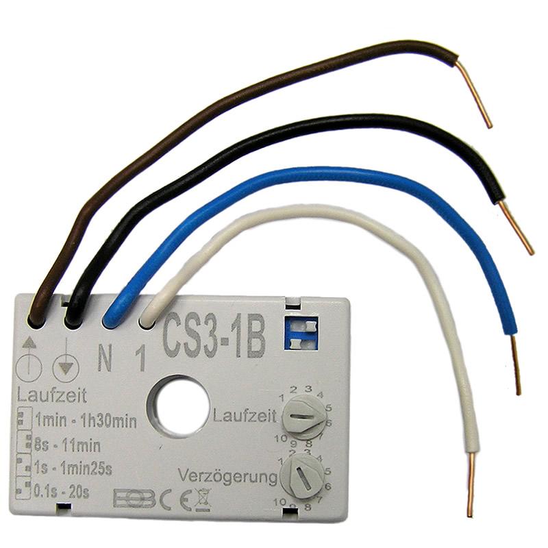 AMS Light » Zeitschalter CS3-1B zum Schalten von Ventilatoren in ...